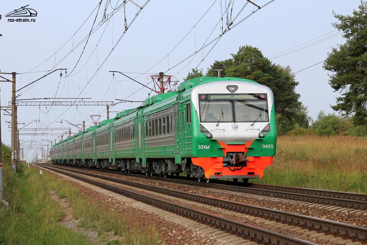 Схема вагонов поезда 7094м